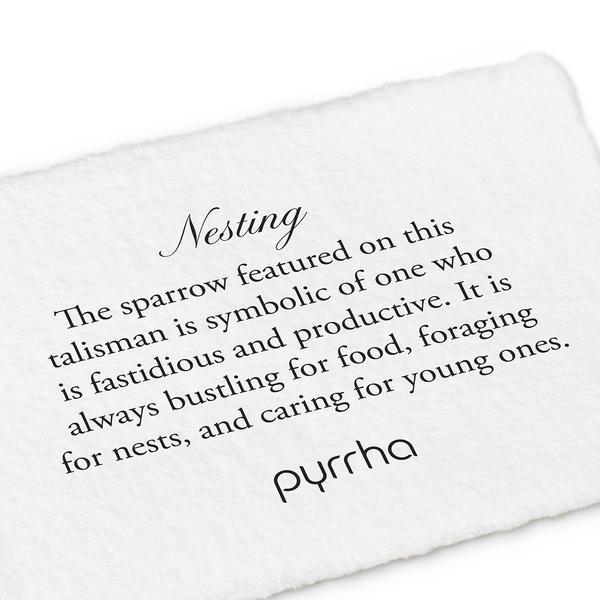 "Pyrrha Pyrrha Nesting 18"""
