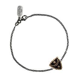 "Pyrrha Bronze Truth and Enlightenment Bracelet 7"""