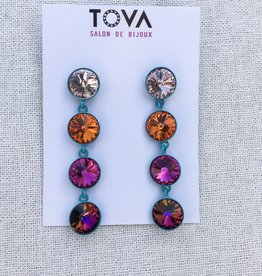 Tova Tova Earring- Rainbow Drop