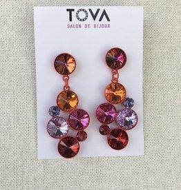 Tova Tova Earring- On Fire