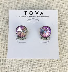 Tova Tova Earring- Lilac Stud