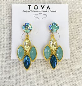 Tova Tova Earring- Cool Lemonade