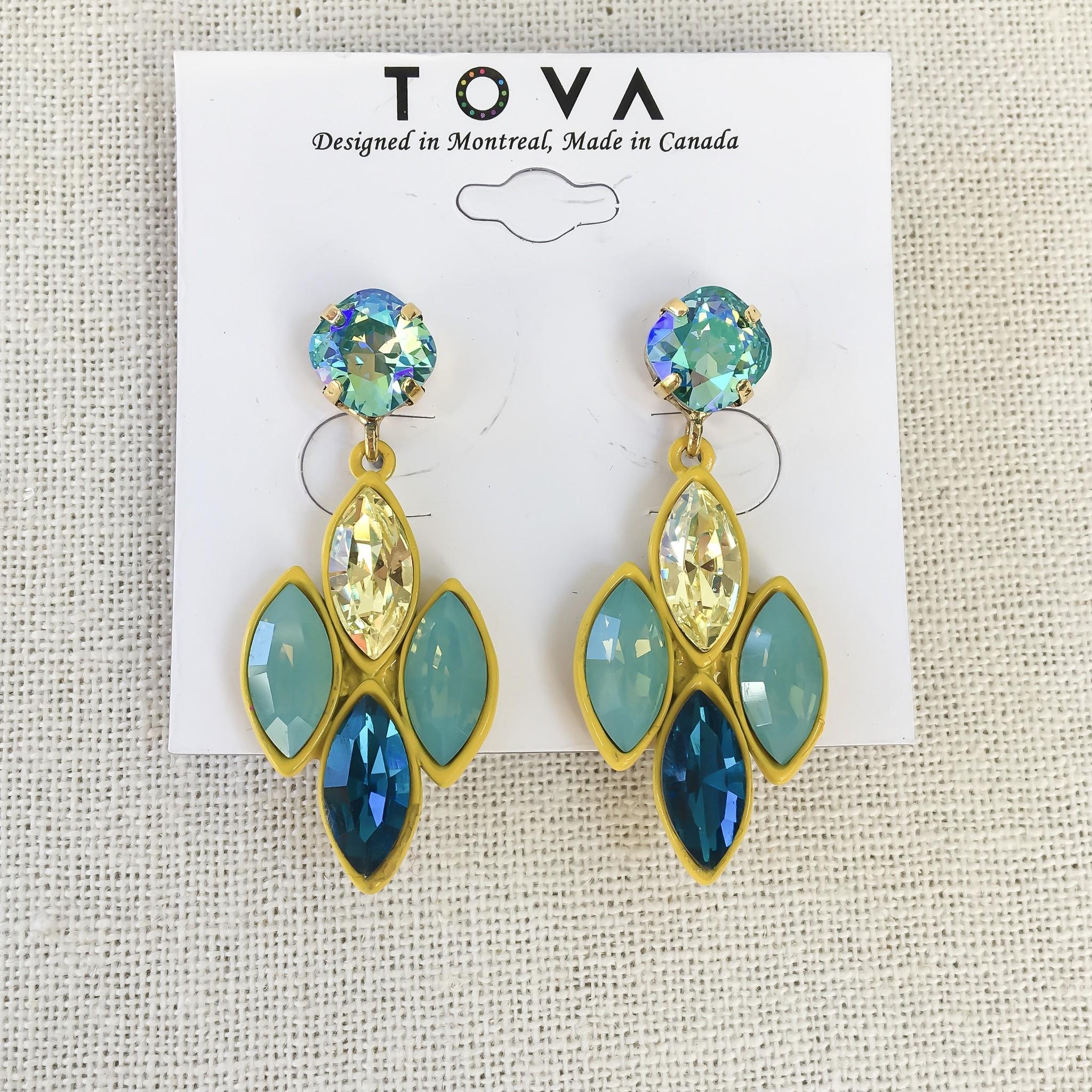 Tova Tova Earring- Cool Lemonade