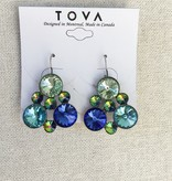 Tova Tova Earring- Bubbly Blues
