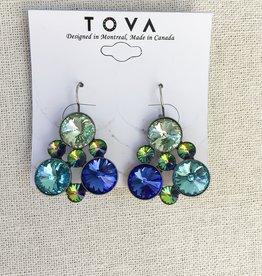 Tova Tova Earring- Bubbly Blues