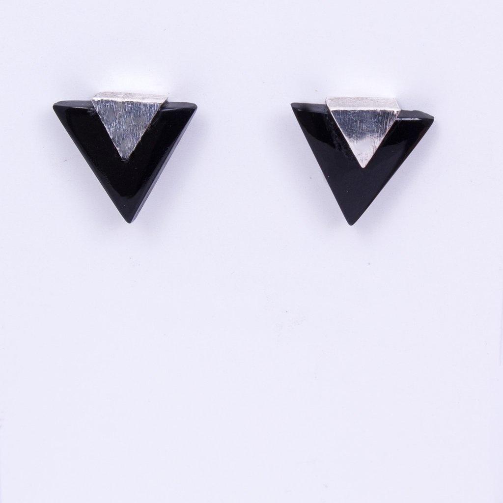Elizabeth Burry Desgins MEEKA Earring- Black Onyx