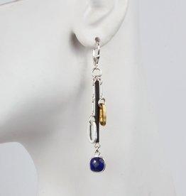 Elizabeth Burry Desgins JESSICA Earring- Lapis Lazuli