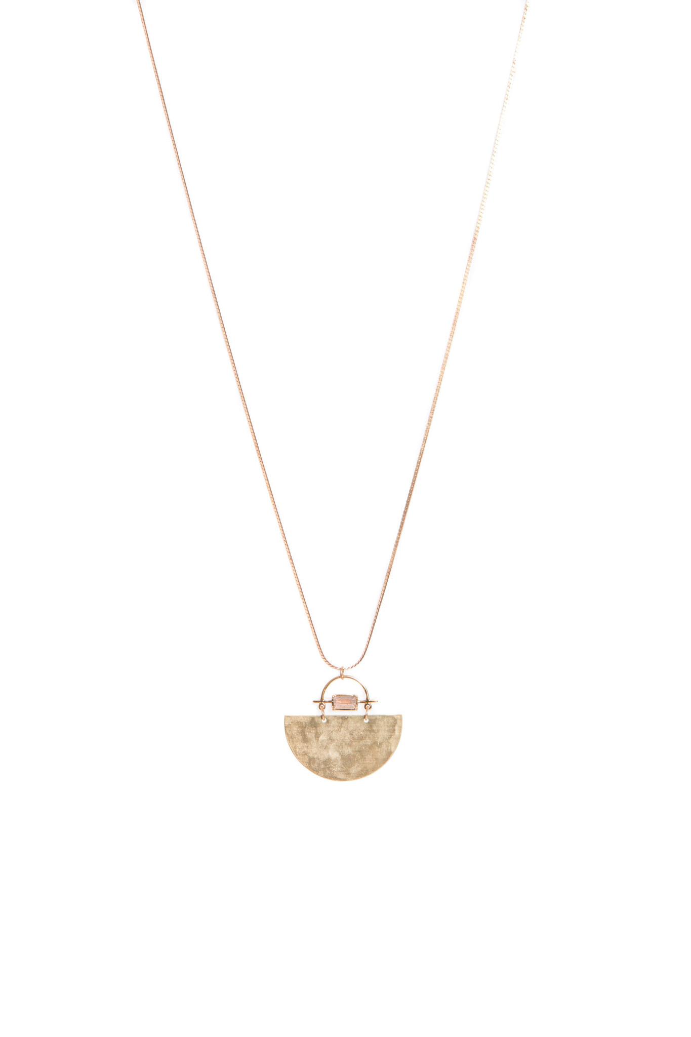 Hailey Gerrits Meridian Necklace- Labradorite