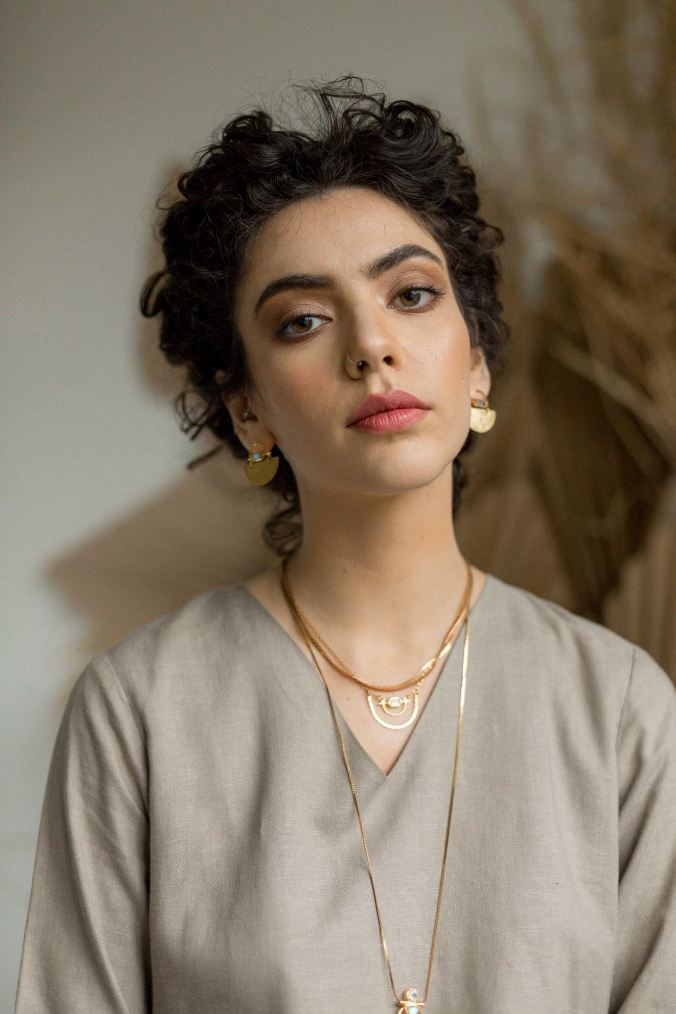 Hailey Gerrits Meridian Earrings- Citrine