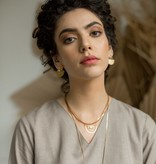 Hailey Gerrits Meridian Earrings- Rose Quartz