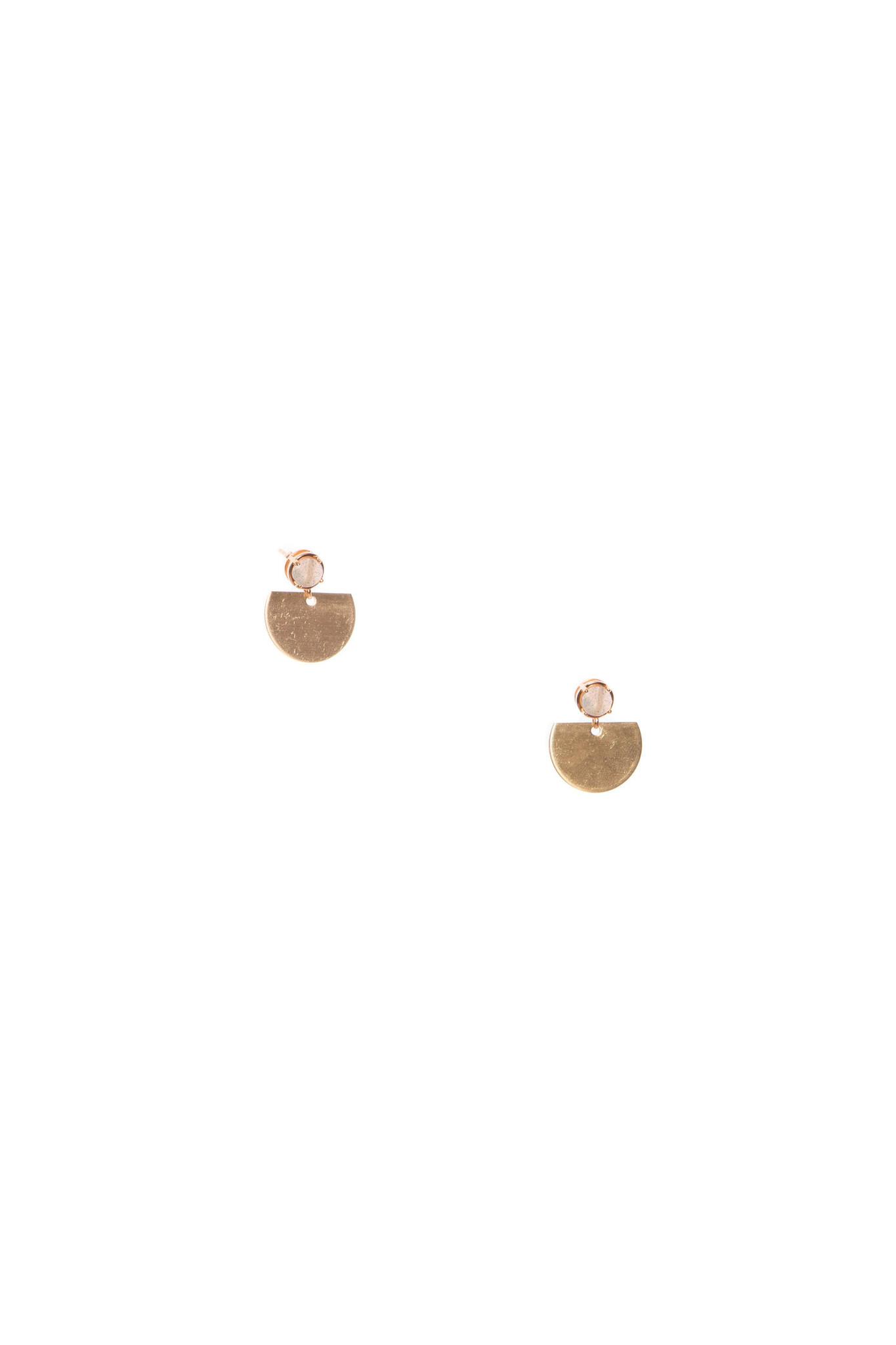 Hailey Gerrits Sun Earrings- Labradorite