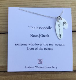"""Andrea Waines Andrea Waines- Thalassophile Necklace 18"""""""