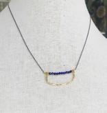 Howling Dog Charlotte Necklace- Lapis Lazuli