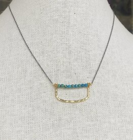 Howling Dog Charlotte Necklace- Turquoise