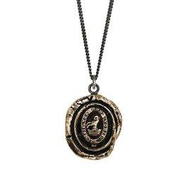 "Pyrrha Pyrrha- Devoted Father 22"" Bronze"