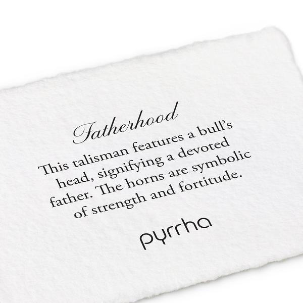 Pyrrha Pyrrha- Fatherhood Wide ID Bracelet XL