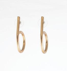 Anne Marie Chagnon Madisson Earring- Bronze