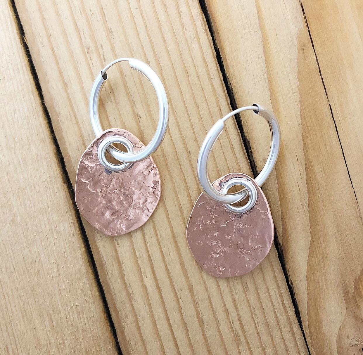 Karyn Chopik Stone Textured Pebble - Copper