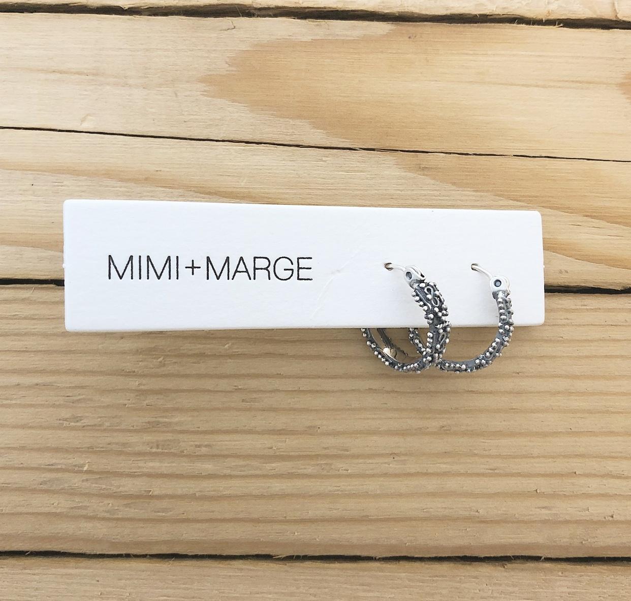 mimi + marge Kebaikan All Round Hoop Earring