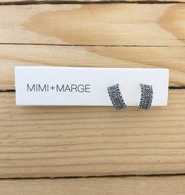 mimi + marge Dwi Hoop Earring