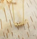 Dianne Rodger Gold Mini Twist Necklace