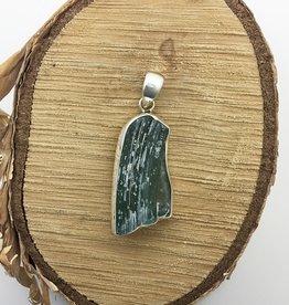 Bamiyan Silver Roman Glass Pendant