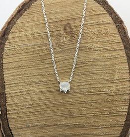 Tashi Tiny Ovalcute Moonstone Necklace