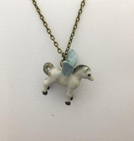 Liberty & Love Porcelain Pegasus Necklace