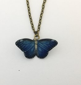 Liberty & Love Porcelain Butterfly Necklace
