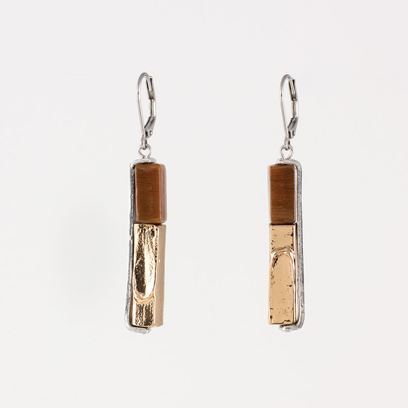 Anne Marie Chagnon Marcia Earring - Cacao