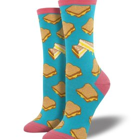SockSmith Grilled Cheese Socks