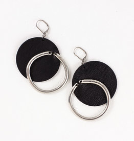 Anne Marie Chagnon Nichol Earring- Pewter