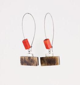 Anne Marie Chagnon Sheldon Earring- Lava