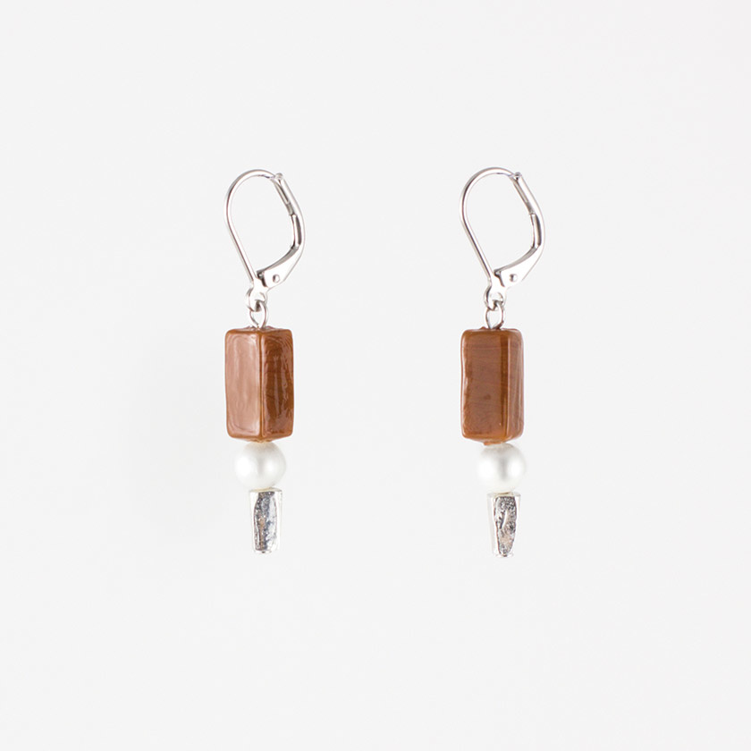 Anne Marie Chagnon Brittany Earring - cacao