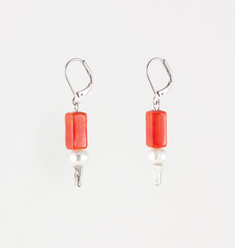 Anne Marie Chagnon Brittany earring - Lava