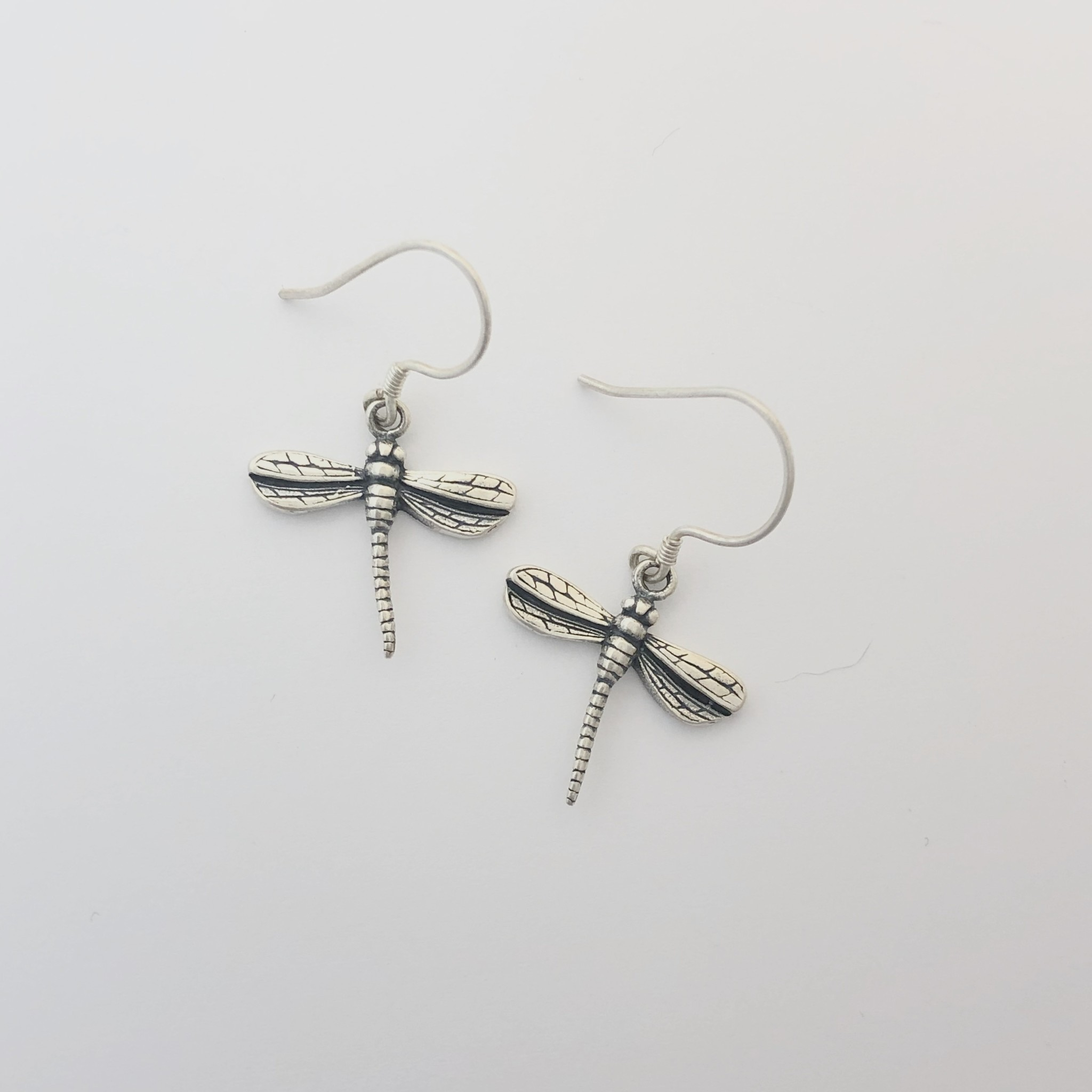 M Style Small Dragonfly Earrings