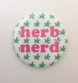 The Found Herb Nerd Magnet