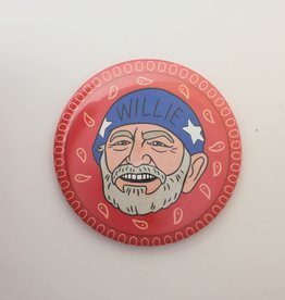 The Found Willie Nelson Magnet