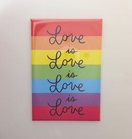 The Found Love is Love Magnet