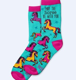 WIT Wit! May the Horse Socks