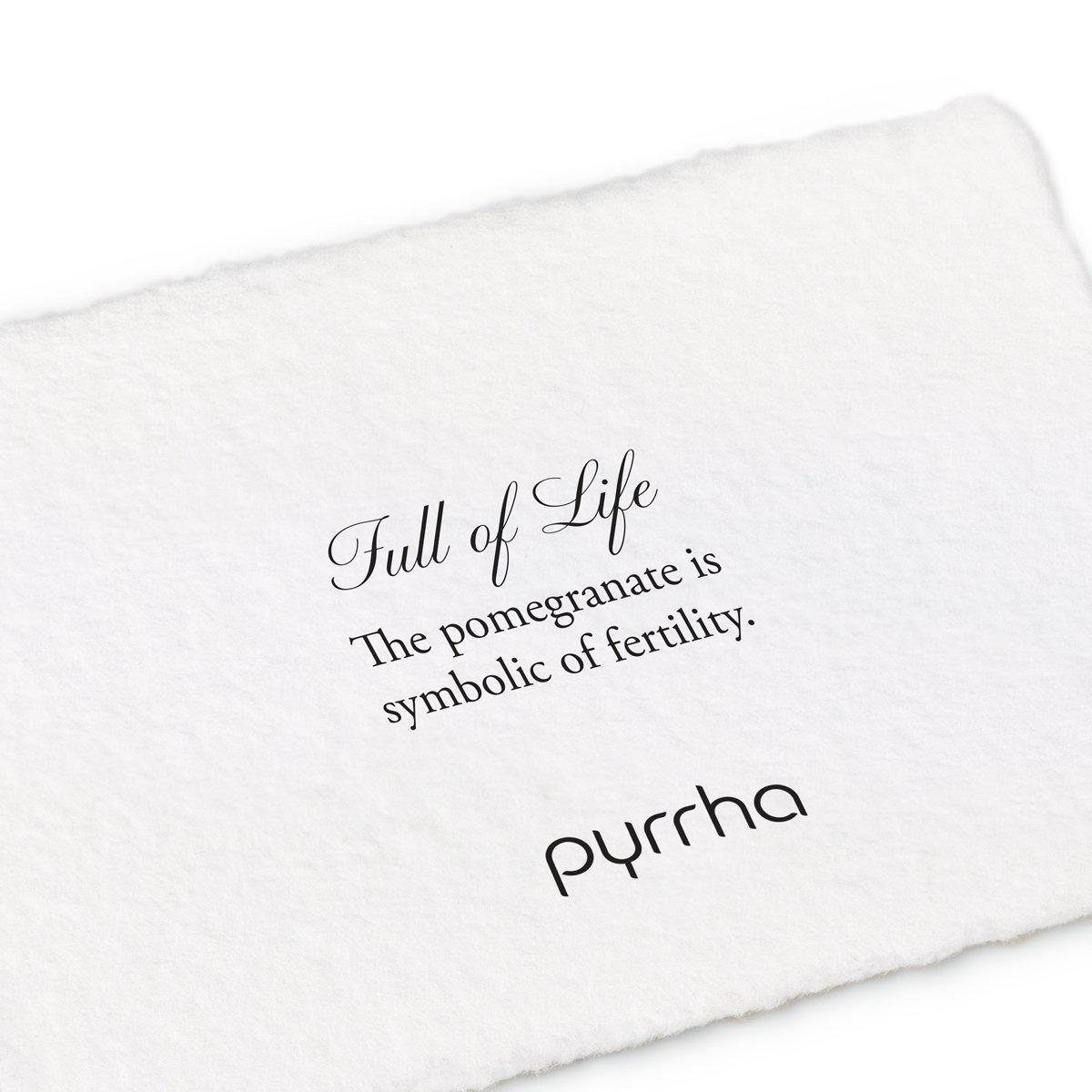 "Pyrrha Pyrrha- Full of Life 18"""
