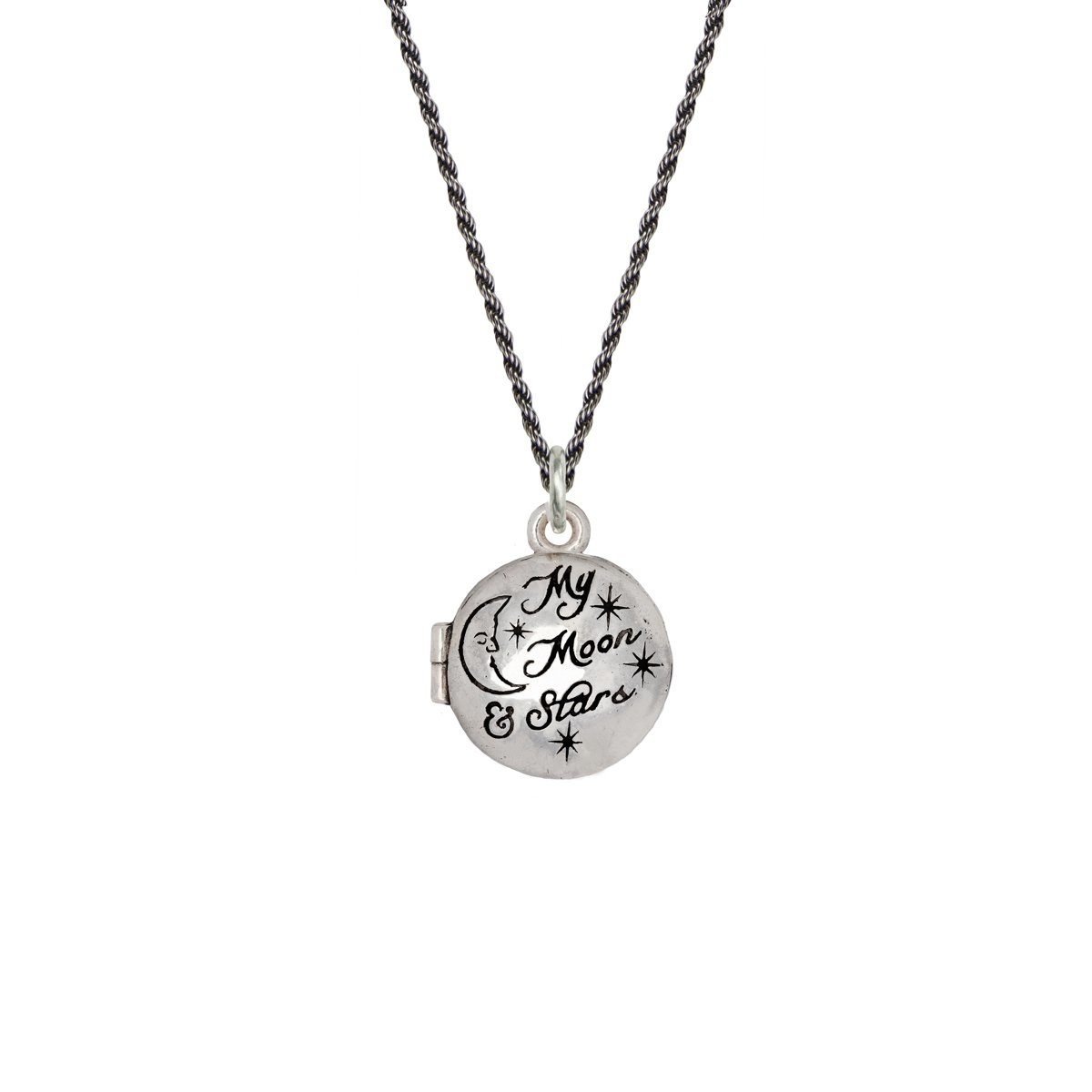 Pyrrha Pyrrha- My Moon and Stars Locket 24""