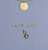 Lucky Feather Lucky Feather Zodiac- Capricorn