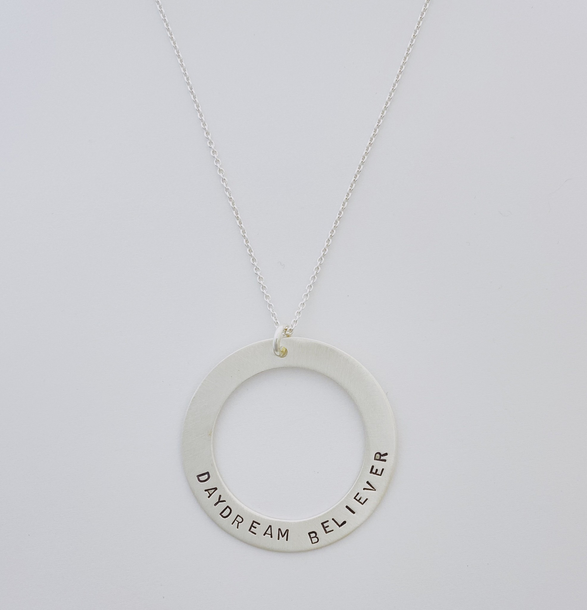 Andrea Waines Slim Halo Necklace- Daydream Believer