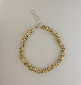 Dianne Rodger Dianne Rodger Silver and Gold Twist Bracelet
