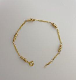 Dianne Rodger Gold Micro Twists Bracelet
