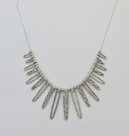 Shablool Silver Necklace 18""