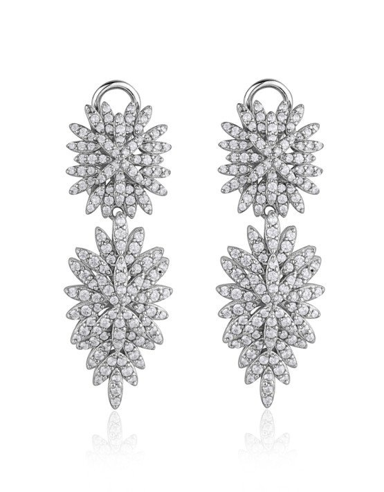Larus Flower Chandelier Earring