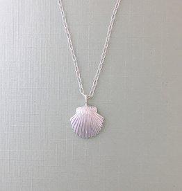 Tashi Silver Shell Necklace