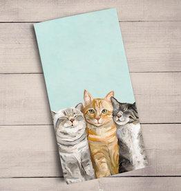 Green Box Feline Friends Tea Towel